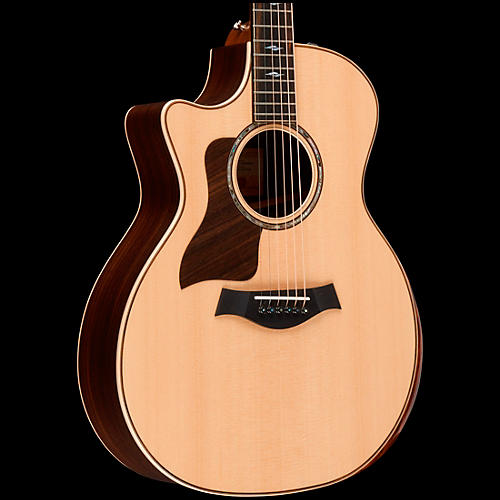 Taylor 814ce DLX V-Class Grand Auditorium Left-Handed Acoustic-Electric Guitar