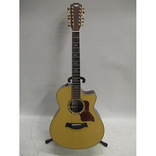used taylor 856ce 12 string acoustic electric guitar natural guitar center. Black Bedroom Furniture Sets. Home Design Ideas