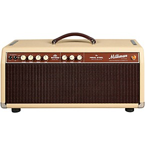 milkman sound 85w pedal steel 85w tube guitar amp head vanilla guitar center. Black Bedroom Furniture Sets. Home Design Ideas