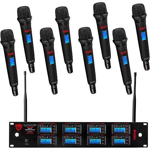 Nady 8W-1KU UHF 8-Channel Wireless Receiver System