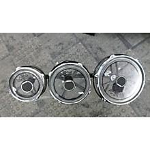 GP Percussion 8X10 Chrome Roto Toms