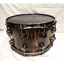 DW 8X14 COLLECTOR'S SERIES EXOTIC EBONY VLT Drum