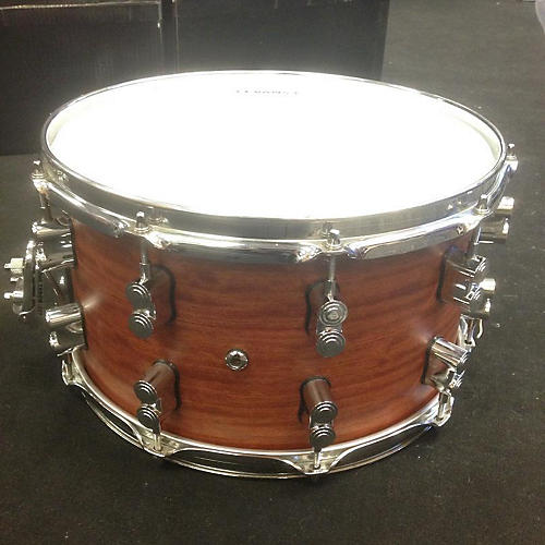 PDP by DW 8X14 LTD EDITION Bubinga And Maple Drum