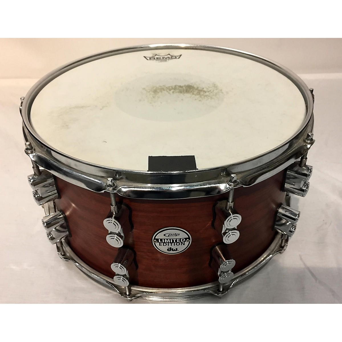 PDP by DW 8X14 LTD MAPLE BUBINGA Drum