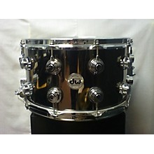 DW 8X14 Smooth Brass Snare Drum