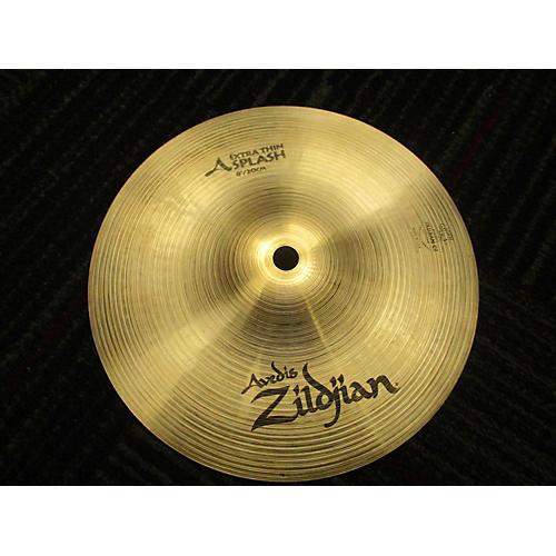 Zildjian 8in A CUSTOM EXTRA THIN SPLASH Cymbal