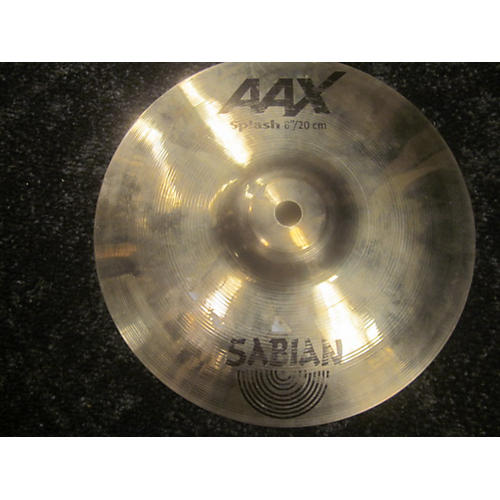 Sabian 8in AAX Splash Brilliant Cymbal