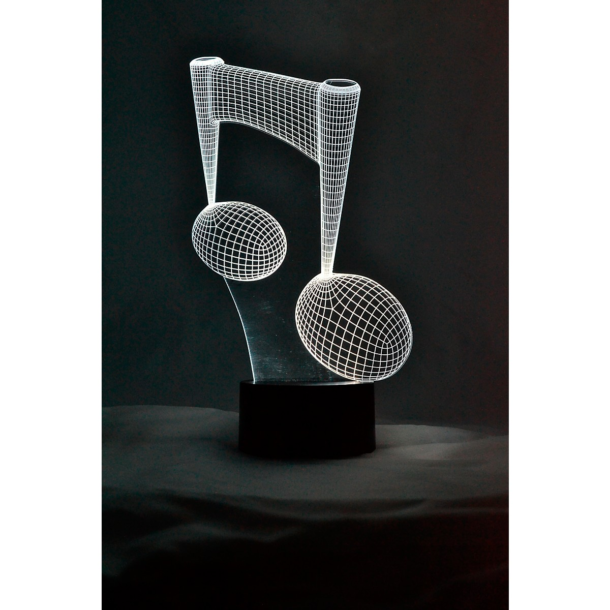 AIM 8th Note 3D LED Lamp Optical Illusion Light