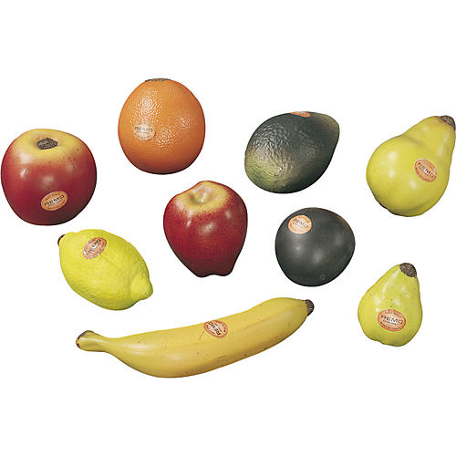 Remo 9-Piece Assorted Fruit Shakers