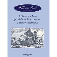 Editio Musica Budapest 9 Sonate Facili-vln/pno(vcl) EMB Series by Various