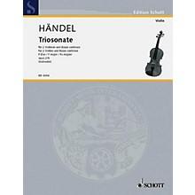 Schott Music 9 Trio Sonatas Op. 2, No. 5 Schott Series Composed by Georg Friedrich Händel