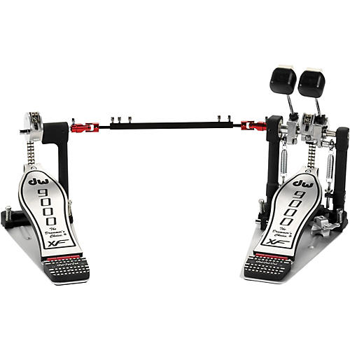 DW 9000 Series Double Bass Drum Pedal with eXtended Footboard