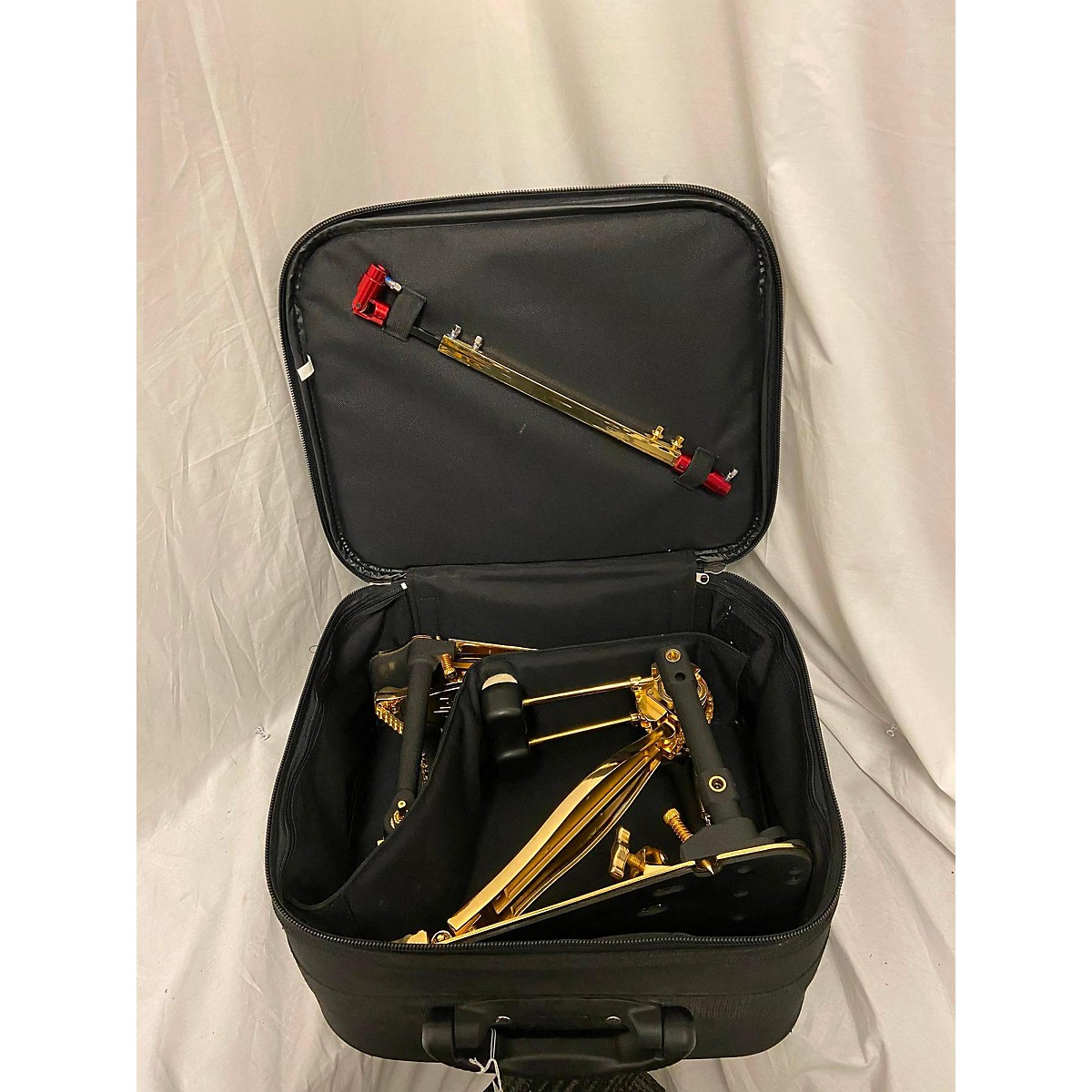 DW 9002 Series Double Gold Plated Double Bass Drum Pedal