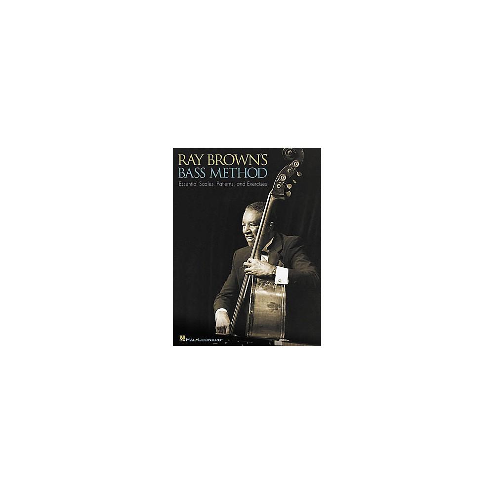 Hal Leonard Ray Brown's Bass Method Book 1274034475323