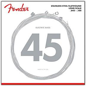 fender 9050l stainless steel flatwound long scale bass strings light guitar center. Black Bedroom Furniture Sets. Home Design Ideas