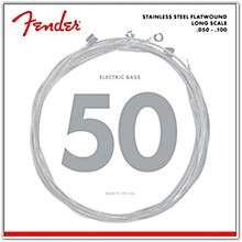 Fender 9050ML Stainless Steel Flatwound Long Scale Bass Strings - Medium Light