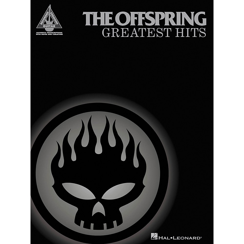 Hal Leonard The Offspring Greatest Hits Guitar Tab Songbook 1274034470864
