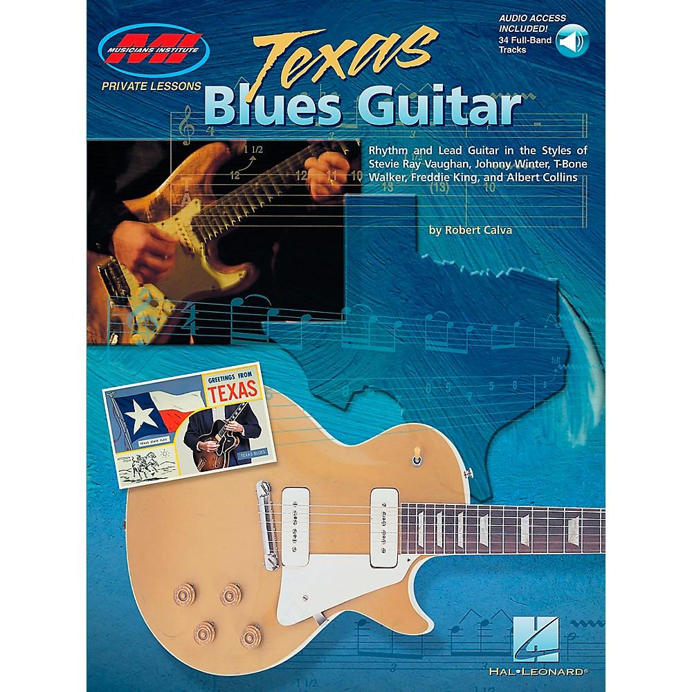Hal Leonard Texas Blues Guitar Book/Online Audio 1274034472739