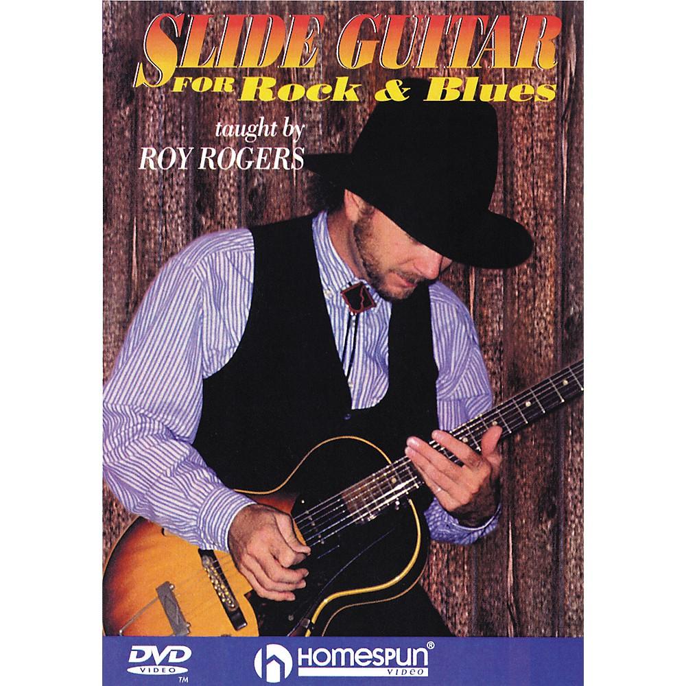 Homespun Slide Guitar For Rock And Blues (Dvd) 1274034474350