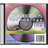Microboards Cdr-80 48X Cdr With Slimline Jewel Case