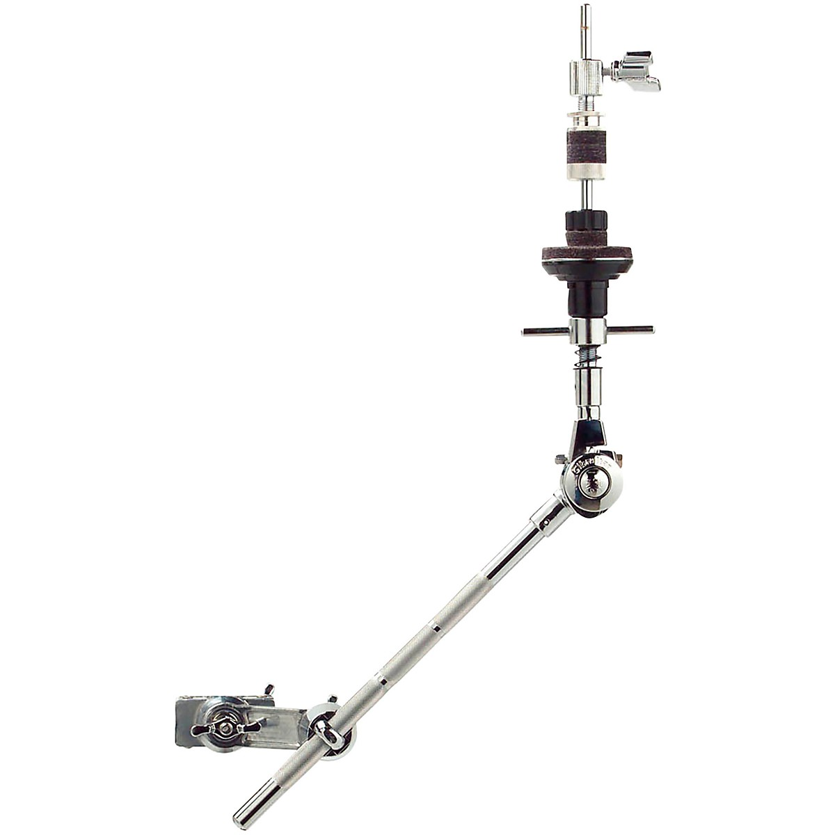 Gibraltar 9707XB Brake Tilter X-Hat Mini Boom Arm with Grabber Clamp