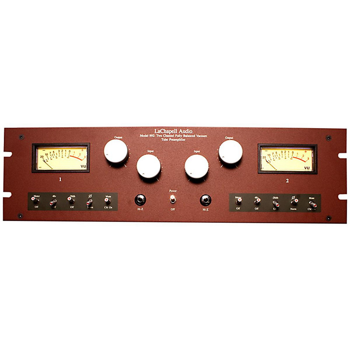 LaChapell Audio 992EG 2-Channel Extended Gain Tube Mic Pre