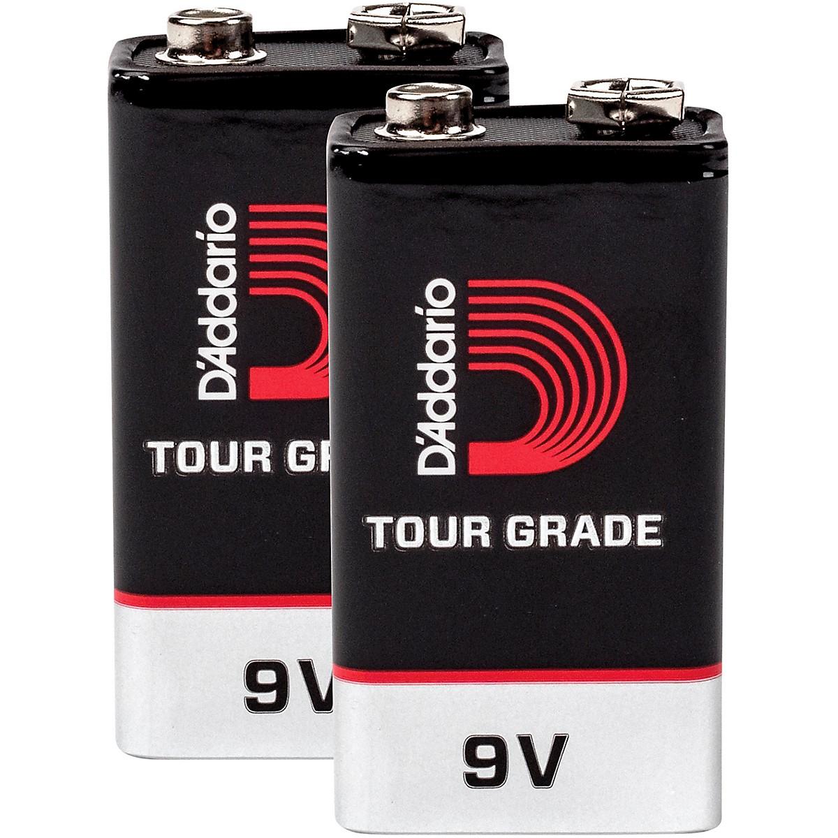 D'Addario Planet Waves 9V Battery 2 Pack