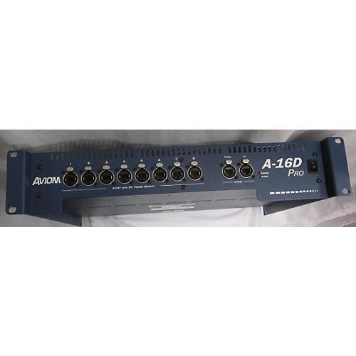 Aviom A-16D PRO Digital Mixer