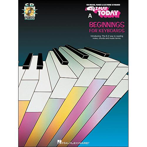 Hal Leonard A Beginnings Keyboards Book/CD E-Z Play