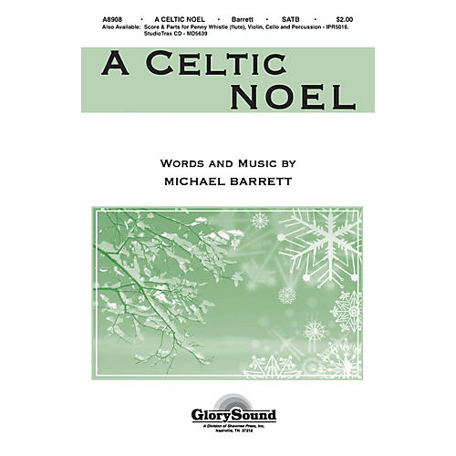 Shawnee Press A Celtic Noel ORCHESTRATION ON CD-ROM Composed by Michael Barrett