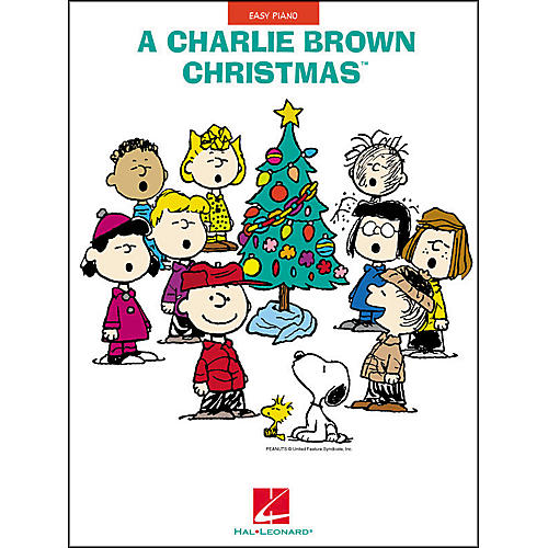 Hal Leonard A Charlie Brown Christmas For Easy Piano