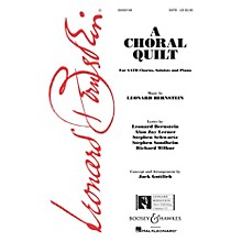 Leonard Bernstein Music A Choral Quilt SATB Arranged by Jack Gottlieb
