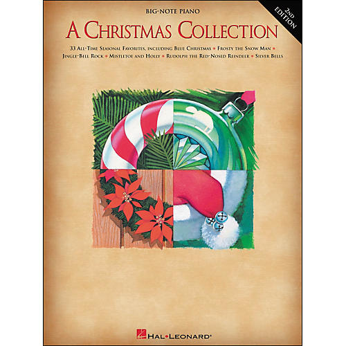 Hal Leonard A Christmas Collection for Big Note Piano 2nd Edition