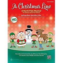 Alfred A Christmas Line Enhanced CD