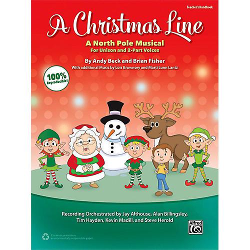 Alfred A Christmas Line Enhanced CD