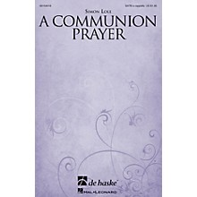 De Haske Music A Communion Prayer SATB a cappella composed by Simon Lole