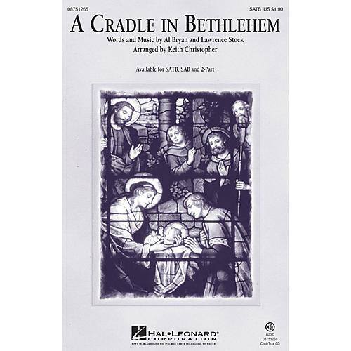 Hal Leonard A Cradle in Bethlehem 2-Part Arranged by Keith Christopher