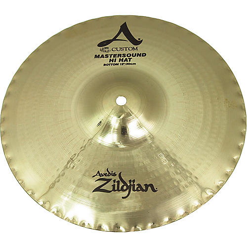 3bacbf3ae78f Zildjian A Custom Mastersound Hi-Hat Bottom