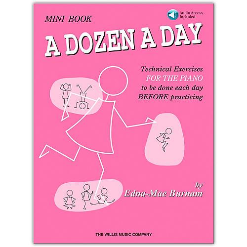 Willis Music A Dozen A Day Mini Book (Book/Online Audio)