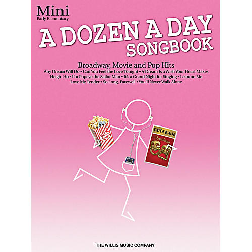 Willis Music A Dozen A Day Songbook - Mini Early Elementary Level Book