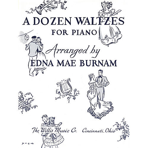 Willis Music A Dozen Waltzes (Later Elem Level) Willis Series