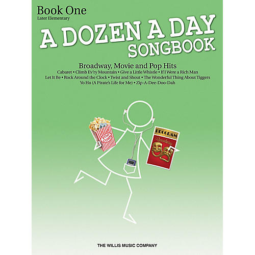 Willis Music A Dozen a Day Songbook - Book 1 Willis Series Book by Various (Level Late Elem to Early Inter)
