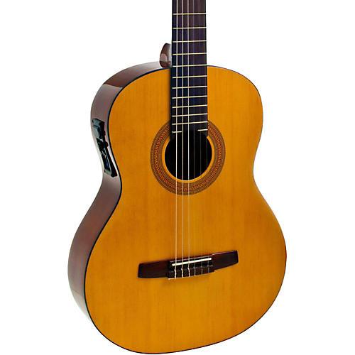 hohner a full size nylon string acoustic electric guitar guitar center. Black Bedroom Furniture Sets. Home Design Ideas