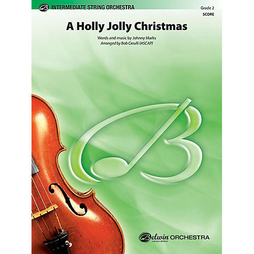 BELWIN A Holly Jolly Christmas Grade 2