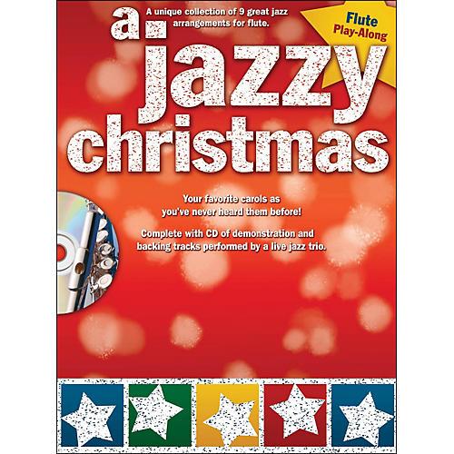 Hal Leonard A Jazzy Christmas - Flute Play-Along Book/CD