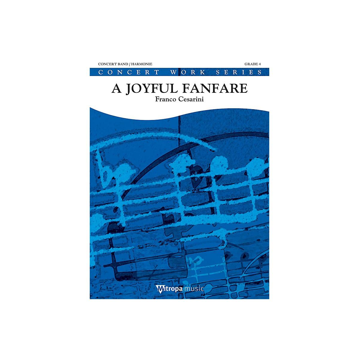Mitropa Music A Joyful Fanfare Concert Band Level 4 Composed by Franco Cesarini