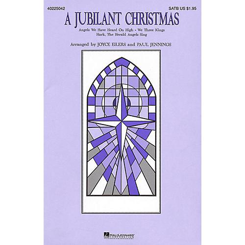Hal Leonard A Jubilant Christmas (Medley) SATB arranged by Joyce Eilers