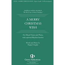 Gentry Publications A Merry Christmas Wish RHYTHM SECTION PARTS Composed by Pepper Choplin