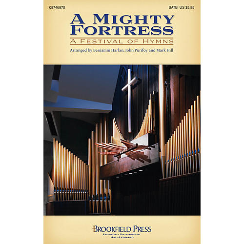 Brookfield A Mighty Fortress - A Festival of Hymns CHOIRTRAX CD Arranged by Benjamin Harlan