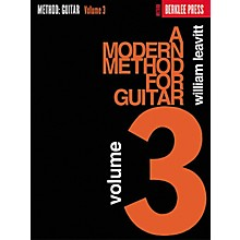 Berklee Press A Modern Method for Guitar - Volume 3 Book
